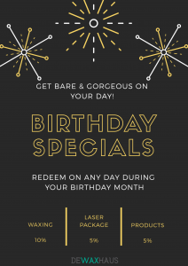 DWH Birthday Promotion